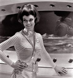 """Gay Ellis (Gabrielle Drake) from Gerry Anderson's """"UFO"""""""