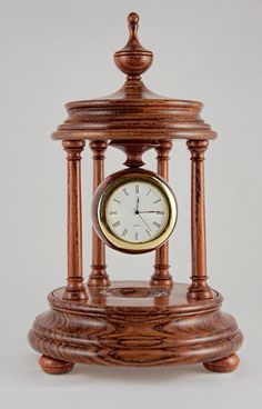 Very elegant mantle clock and based on an by Ebbtidecollections