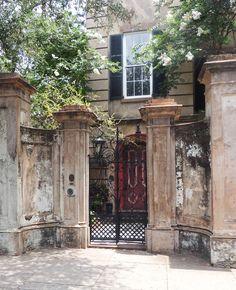 Beautiful Entrance - Charleston SC Home