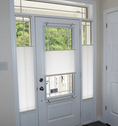 Great Pleated Shades Are An Economical Yet Highly Functional Window Covering  Solution For Door Glass And Side