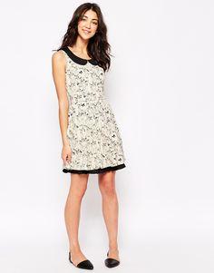 Image 4 ofYumi Owl Print Dress