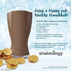Holiday Shakeology Recipes!