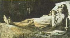 Vincent van Gogh. Woman on her deathbed 1883