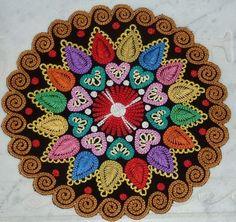Vignettes, Folk Art, Weaving, Bloom, Embroidery, Ornaments, Floral, Flowers, Pattern