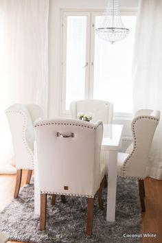 Coconut White: Uudet ruokatuolit - Riviera Maison Keith Dining Chair pellini…