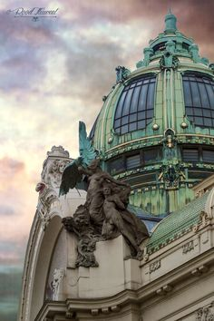 Prague, Obecni-Dum (