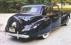 1940 Lincoln Continental Club Coupe