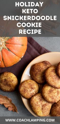Soft, chewy, buttery keto snickerdoodles coated in cinnamon and monk fruit sweetener. These Snickerdoodles bake up nicely and turn out perfect every time!  The delicious taste of the cinnamon & sweetener makes these snickerdoodles great with coffee.  Keto cookies are our family's favorite treat. I like them because it's portion control and I can freeze them, they hold up very well after being frozen.