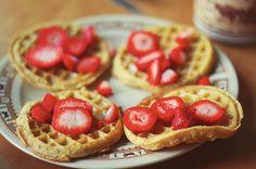 ...waffles...