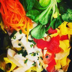 Pâte poulet et curry  #bordeaux #jardinpublic #chartrons #japonais #japanesefood #sushi #maki #Onigirazu #bento #yakitori #yakinikudon #toridon #springrolls #futomaki #hiyashichuka #wakamé #gyoza #edamames #miso
