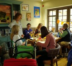 Everyone involved in our workshop! On Thursday 22 May our workshop took over Rowntree Park Cafe . Finger Knitting, Arm Knitting, Big Knits, Design Crafts, Yorkshire, Workshop, Tours, Bike, Bicycle