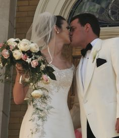Happiness is a beautiful bride, handsome groom and lovely bouquet of flowers on your special day! Cascading Bridal Bouquets, Wedding Bouquets, Wedding Dresses, Beautiful Bride, Special Day, Groom, Handsome, Happiness, Flowers