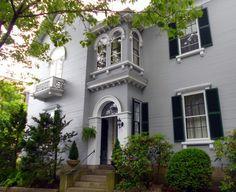 An Italianate House in Salem, Massachusetts, built 1850