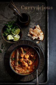 Spicy n Tangy Shrimp n Drumstick Curry | Skillet To Plate