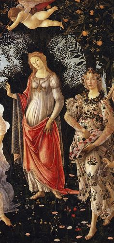 "Botticelli was an Italian painter. He went to the Florentine school during the Early Renaissance (Quattrocento). Less than a hundred years later, Giorgio Vasari saw this movement as a ""golden age"". The patron of the movement was Lorenzo de' Medici. Giorgio Vasari, Renaissance Kunst, Renaissance Portraits, Renaissance Paintings, Italian Renaissance, Primavera Botticelli, Classic Paintings, Italian Painters, Famous Art"
