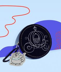 cinderella Gus Gus Carriage pouch wristlet purse for Disney by Danielle Nicole