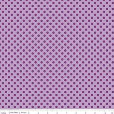 1/2 Yard Riley Blake Fabric Small Dots Tone on by JamNJelliFabrics, $4.25