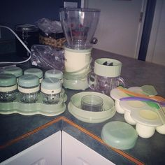 time to put the #babybullet to work :) making #healthy #homemade #baby #food #babyfood