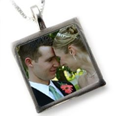Wedding Gift Custom Picture Necklace