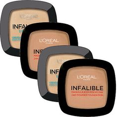 L Oreal Paris Infallible Pro Matte & Pro Glow Pressed Powder - Choose Your Shade Pro Glow Foundation, Loose Powder Foundation, Makeup Beauty Box, Matte Powder, Makeup Sale, Lip Stain, L'oréal Paris, Loreal, Travel Size Products