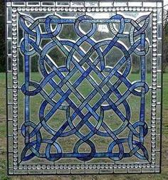 Stained glass patterns * Quilt idea