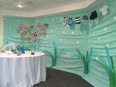 Under the sea baby shower decoration ideas