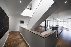 Blouin Tardif Architectes | Réalisations | wooden staircase | Résidence St-Vallier | Escalier de bois Montreal, Space Architecture, Living Area, Bathtub, Interior Design, Designers, Public, Paris, Google Search