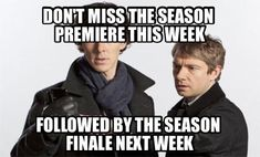 As An American Watching British Television ... and it's getting to be as bad here. Six shows and the season is done! Remember when a season was from September to June?