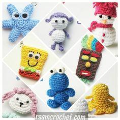مجموعة من باترونات الدمى والاميغورومي المنشورة في موقع رام كروشيه☃️ كل الباترونات متوفرة في موقع رام كروشيه ماعدا باترون كعكي مازلت أعمل عليه🍪 Arabic and English pattern! Cookie monster soon!  raamcrochet.com  #crochet #raamcrochet #crochetpatteren #كروشيه #رام_كروشيه