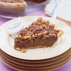 Caramel Walnut Pie | MyRecipes