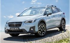 Рублевые цены на обновленный кроссовер Subaru XV