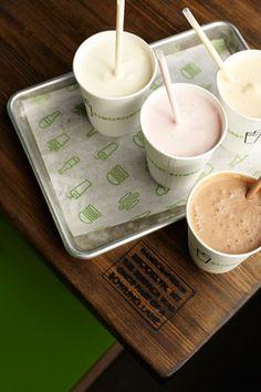 MMmmmmm milkshakes from Shake Shack <3