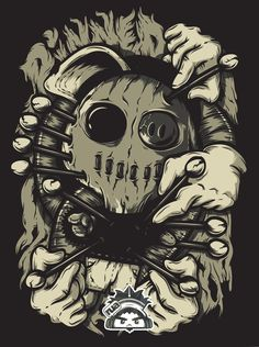 PINNED VOODOO by RUA RuelJunAndaya, via Behance