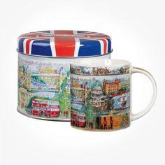Tazas de porcelana de Dunoon Henley de-Paysage-taza