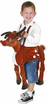 childs reindeer ride-on costume #christmas