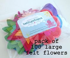 Shops, Felt Flowers, Packing, Tableware, Etsy, Shopping, Felted Flowers, Bag Packaging, Tents