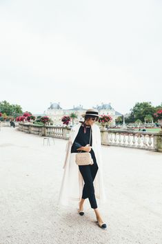 Paris Garden Fashion Stroll | Jenny Cipoletti of Margo & Me