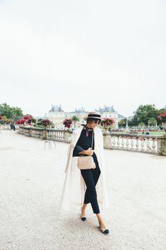 Paris Garden Fashion Stroll  | Jenny Cipoletti of Margo & Me