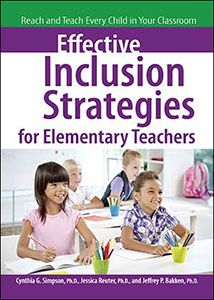 strategies for an inclusive classroom setting Inclusive education research & practice xuan bui, carol quirk, selene almazan, michele valenti  analyses that addressed the issue of the most effective setting for the education of students  intervention is often cited in the literature as one of the most effective strategies for inclusive classrooms in several studies focused on.