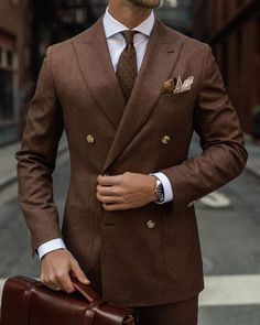 Gents Fashion, Mens Fashion Suits, Fashion Pants, Mens Suits, Fashion Outfits, Double Breasted Suit Men, Style Costume Homme, Suit Combinations, Classy Suits