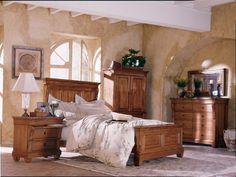 Real Wood Bedroom Furniture Sets9