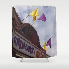 Carnival Shower Curtain  Carnival Original by ShelleysCrochetOle, $117.00