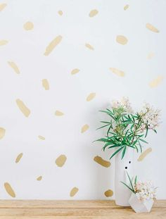 Juju Papers Pas De Trois x Wallpaper Roll Color: Gold on Cream Chic Wallpaper, Gold Wallpaper, Paper Wallpaper, Wallpaper Samples, Print Wallpaper, Wallpaper Roll, Wallpaper Designs, Beautiful Wallpaper, Adhesive Wallpaper