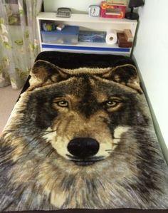 Mink-Blanket-Soft-Throw-130cm-x150cm-Wolf-W1