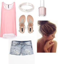Pretty in Pink. Great for a lazy summer day