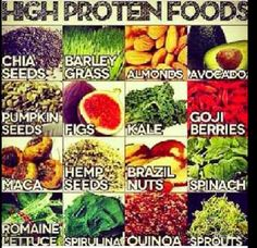 Great proteins to get you to build muscle ans burn fat.