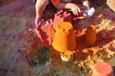 Colored Sand Creations | Activities For Children | Outdoor Play, Paint Play, Sensory Activities | Play At Home Mom