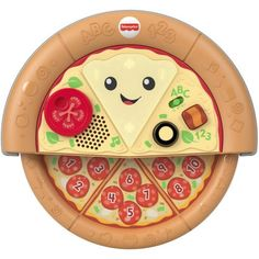 Get this Fisher-Price Laugh & Learn Slice of Learning Pizza Baby Activity Toy at Walmart for only $8.06 (reg. $14.99). You save 46% off the retail price for this baby learning toy. Add extra for shipping or receive free shipping over $35. Deal may expire soon. Fisher Price, Baby Activity Toys, Infant Activities, Baby Learning Toys, Baby Musical Toys, Days To Christmas, Baby Words, Mattel, Fun Songs