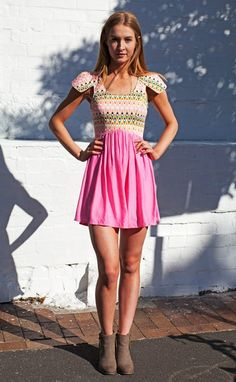 CANDY GURL DRESS Sugar and spice. This cute little dress makes even the naughtiest girl look sweet.