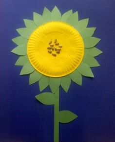 22 Spring Crafts & paper-plate sunflower with loose tea for center or make another ...
